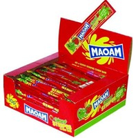 Maoam Giant Stripes Φράουλα display 60 τεμαχίων