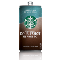 Starbucks Doubleshot No Added Sugar 200ml